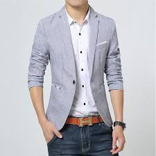 Light Blue Jacket Mens Suit Jacket Men Blazer Masculino Suits Jackets Men U0027s Bright Color