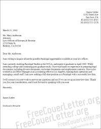 legal associate cover letter