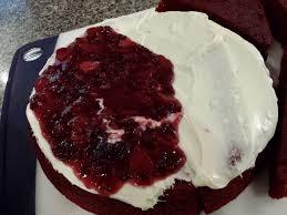 gluten free red velvet jaws cake