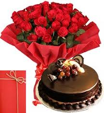 order send midnight online 25 red roses bouquet with half kg