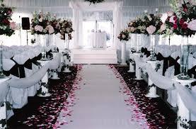 white wedding black and white wedding decorations casadebormela