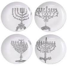 hanukkah plate bubby s latkes plate set happy hanukkah colors