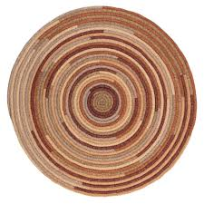 Braided Rugs Round by Riley Rustic Blend 10 Ft X 10 Ft Braided Round Area Rug