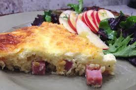 cuisine quiche lorraine crustless quiche lorraine of the always