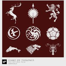 game of thrones sigil collection vector diy pinterest gaming