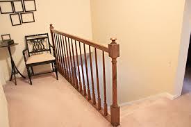 Landing Banister Modern Stairway Railings Ideas Homemade Stairway Railings