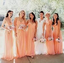 peach and gold bridesmaid dresses naf dresses