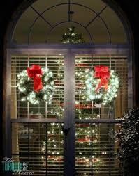 classic wreath outdoor with led lights i