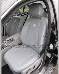 mercedes c class seat covers mercedes c class w204 grey leatherette seat covers car seat covers