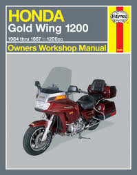 honda gold wing 1200 84 87 haynes repair manual haynes manuals