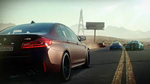 need for speed payback racing the 2018 bmw m5 down the streets of