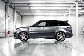 range rover modified overfinch tunes the latest range rover sport
