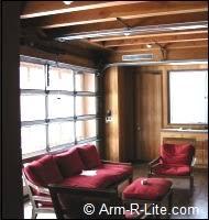 Overhead Door Bangor Maine Maine Aluminum And Glass Garage Doors Arm R Lite