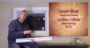 Levolor Vertical Blinds Installation Instructions Levolor Blinds Easy Install And Review Youtube