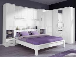 chambre pont chambre complète lucky 160x200 cm chêne blanc cérusé chez mobistoxx