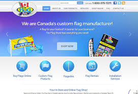 Custom Flags Online Web Design Whetham Solutions Website Design Barrie On