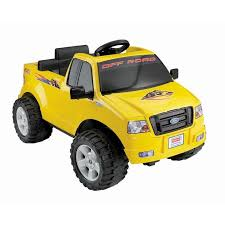 battery powered ride toy vehicle f150 truck yellow 6 volt