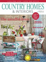 homes and interiors magazine country homes interiors may 2016 pdf magazines