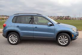 volkswagen tiguan 2016 blue tiguan offers plenty of surprises wheels ca