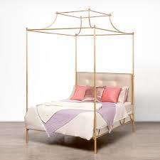 Gold Canopy Bed Made Goods Janelle Bed Gold Candelabra Inc