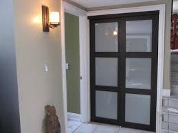 tempered glass closet doors truporte 60 in x 80 in 2290 series espresso 3 lite tempered
