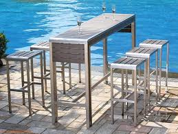 High Top Patio Furniture by High Top Table And Chairs