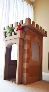 Castle Kids Room by Cardboard Castle For Kids Room