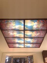 Sky Ceiling Light Fluorescent Lights Decorative Light Panels Sky Panels Images Gallery