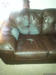 Genuine Leather Sofa And Loveseat Ashleyfurniture Reviews On Pissedconsumer