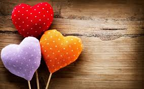 hearts sweet like lollipops hd wallpaper