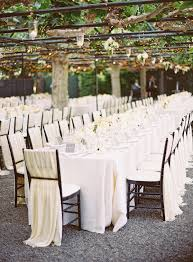 White Banquet Chair Covers Chair Cover Ideas Part Ii Ceremony Decor Trendy Bride Magazine
