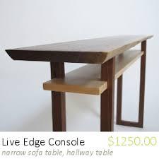 mokuzai furniture modern wood furniture console tables entry