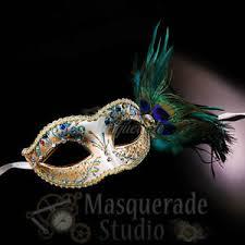 peacock mardi gras mask women s peacock feathered venetian mardi gras masquerade mask