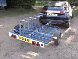 motocross bike trailer 2010 cycle bike transporter car trailer 6 cycle capacity in