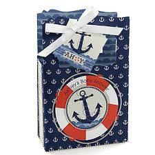 nautical baby shower favors ahoy nautical personalized baby shower favor boxes