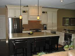 Two Tone Kitchen Cabinets Designs Amusing Two Tone Painted Kitchen Cupboards Pics Design Ideas