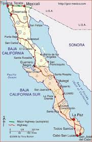 map of mexico and california map of baja california peninsula geo mexico the geography of mexico