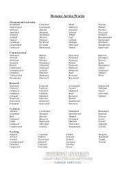Best Resume Action Words by 100 Resume Action Phrases Best 10 Resume Tips Ideas On