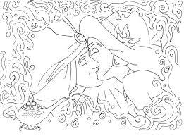 aladdin jasmine lineart lizzzy art deviantart