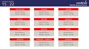sodexo si e social viadirect installs 18 screens showing planned and personalized