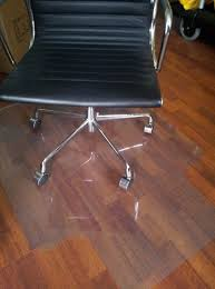 Chair Mat For Hard Floors New Hard Floor Protector Office Chair Mat Soft Vinyl 1200 X 900mm