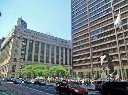 chicago daley plaza thompson center city hall richard j