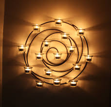 Barn Wall Sconce Metal Wall Spiral 16 Glasscup Votive Candle Holder 21 Pottery Barn