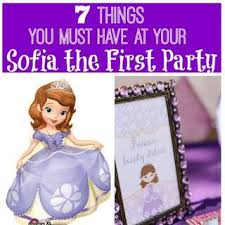 sofia the first party ideas for a birthday catch my party