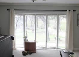 Extra Wide Window Blinds Oversized Diy Extra Long Curtain Rod Fireside Dreamers Decor Pinterest