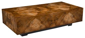 Coffee Table Contemporary by John Richard Chelsea Squared Cocktail Table Contemporary