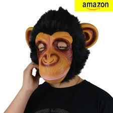 Gorilla Halloween Costumes Larpgears Halloween Costume Latex Funny Gorilla Mask Animal Mask