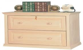 furniture file cabinets modern lateral file unfinished wood