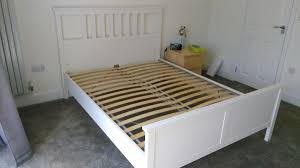 Ikea Bed Frame King Size Ikea Hemnes King Size Bed Frame With Dreams Insignia Belgravia