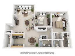 Lenox Floor Plan Studio 1 And 2 Bedroom Floor Plans Park Valley